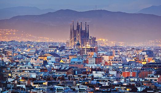 Transfer para grupos en Barcelona