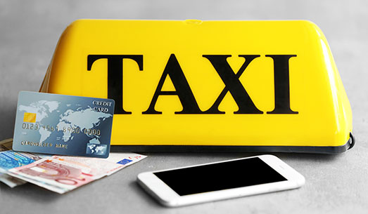 Pago flexible en el taxi en Barcelona