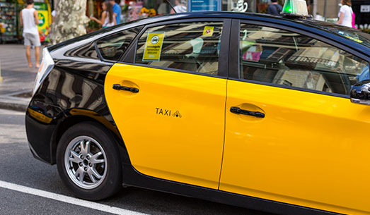 Reserva tu taxi en Barcelona